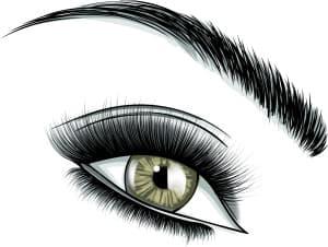 眉毛・アーチ型