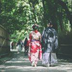 嵐山でデート